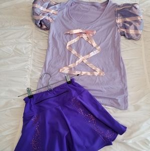 Other - XS parkleSkirts Rapunzel running costume